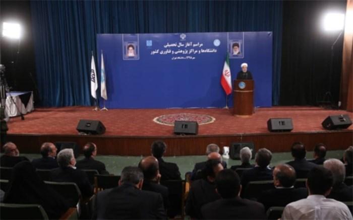 روحانی: سرنوشت آینده کشور را انتخابات تعیین و تأیید می کند