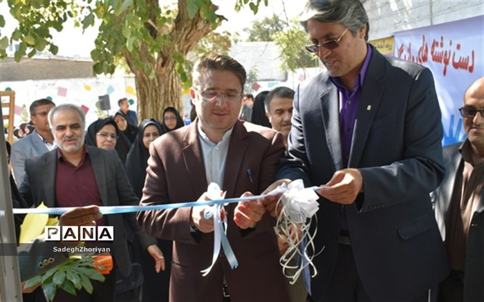 افتتاح مجتمع روانشناختی و مشاوره ای مبین آموزش و پرورش منطقه تبادکان در حاشیه شهر مشهد