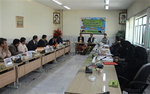 نشست مسئولان سازمان دانش آموزی برگزار شد