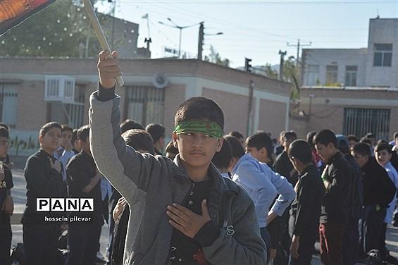 مراسم عزاداری اربعین در دبیرستان شهید نواب صفوی