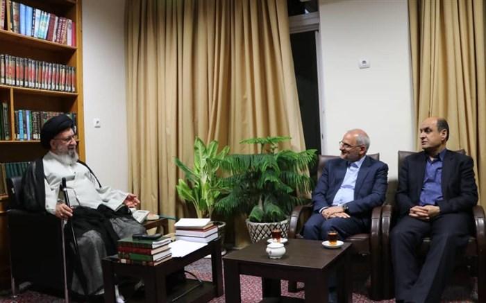 دیدار وزیر آموزش و پرورش با امام جمعه گرگان