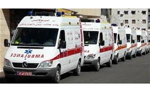 آخرین آمار خسارات وارده به اورژانس تهران