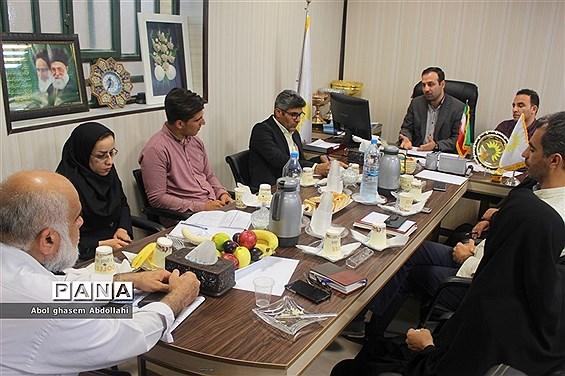 جلسه روسای  هیاتهای  ورزش روستایی و بازیهای بومی محلی شهرستانها و مناطق استان بوشهر