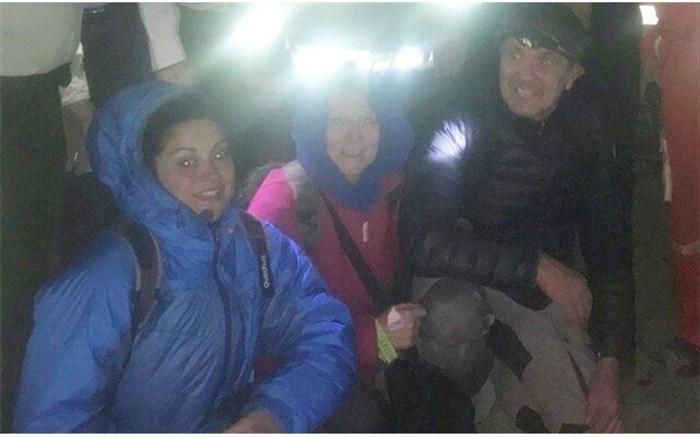 3 گردشگر فرانسوی گرفتار در باتلاق بندر رحمانلو نجات یافتند