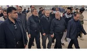 بازدید معاون اول رئیسجمهور از مسجد مقدس کوفه