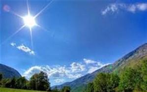 آسمان گیلان فردا در نخستین روزهفته  آفتابی است