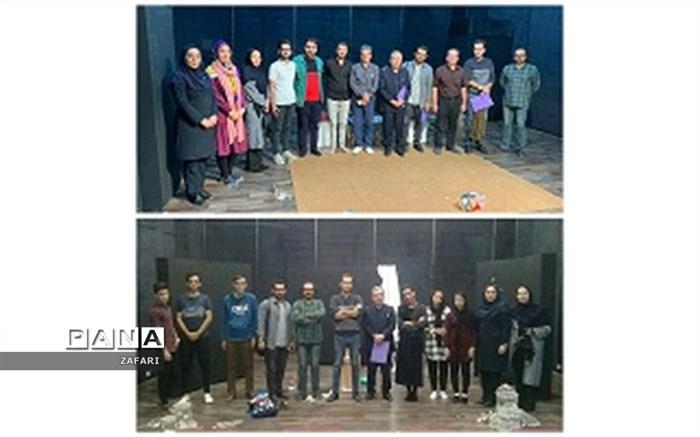 راهیابی نمایش های بالستیک زخم وفاخته ازشیروان به جشنواره تئاترخراسان شمالی