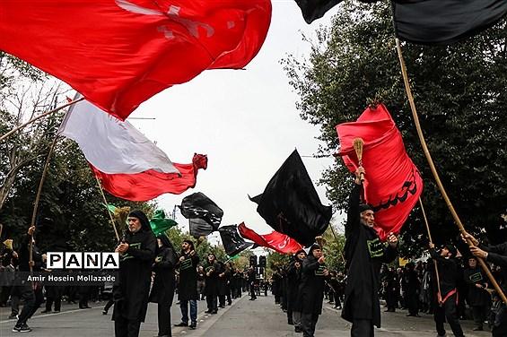 عزاداری خیابانی اربعین حسینی در ارومیه