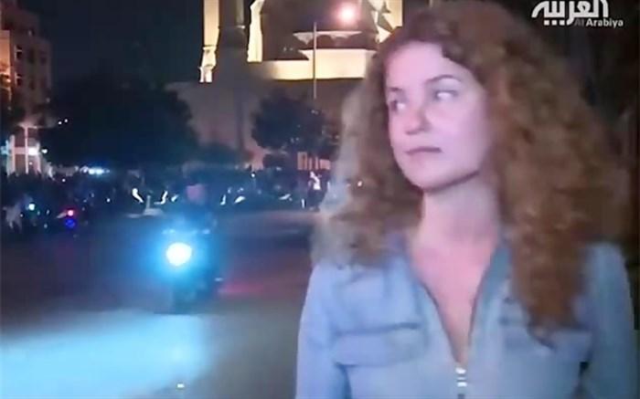 حرکت جالب شهروند لبنانی مقابل دوربین شبکه العربیه