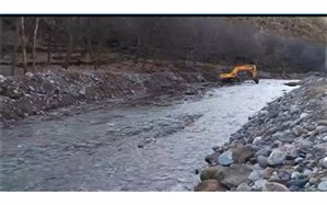 ۱۰۰ هزار متر مربع از حریم و بستر رودخانه لار آزاد شد