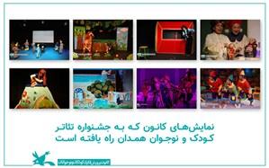 هشت نمایش کانون به جشنواره بینالمللی تئاتر همدان راه یافت