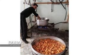 پخت و توزیع غذای نذری به مناسبت اربعین حسینی در دبستان علامه حلی 1 دوره اول