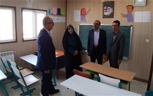 بازدید معاون آموزش ابتدایی اداره کل آموزش و پرورش اصفهان از مدارس شهرستان سمیرم