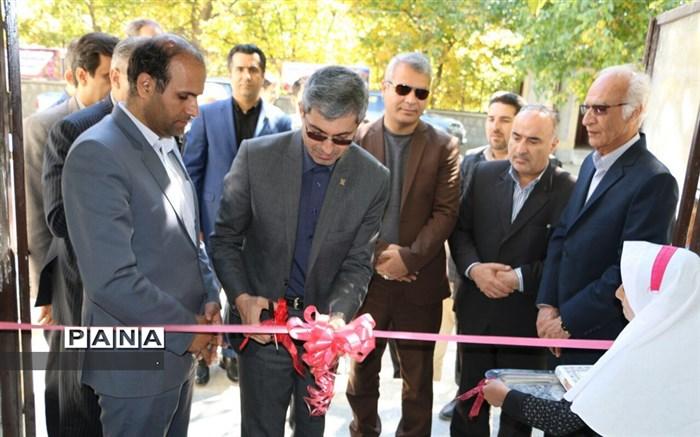 افتتاح مدرسه در شیروان