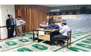 اجرای طرح پایش سلامت کارکنان اداره کل آموزش و پرورش استان