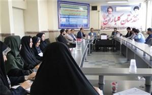 برگزاری نشست کارگروه هماهنگی برنامه های مقطع ابتدایی در پاکدشت