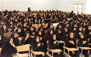 مراسم اربعین حسینی در هنرستان  رازی  شهرستان دشتستان برگزار شد