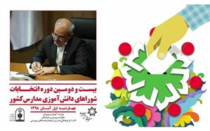 پیام وزیر آموزشوپرورش به مناسبت برگزاری بیست و دومین دوره انتخابات شورای دانشآموزی