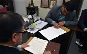 امضای تفاهم نامه همکاریهای مشترک فرهنگی با کتابخانه و موزه ملی ملک تهران