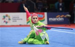 ووشو قهرمانی جهان؛ اولین نقره ایران به هانیه رجبی رسید