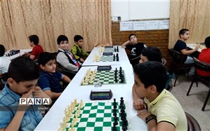 برگزاری مسابقات دانش آموزی شطرنج در ناحیه ۲ اهواز