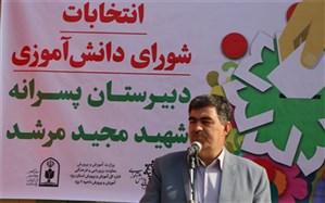 انتخابات شورای دانش آموزی در بیش از 2 هزار مدرسه استان یزد برگزارشد