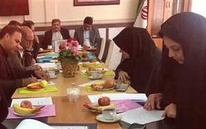 برگزاری جلسه معاونان آموزشی مدارس شاهد دوره اول متوسطه استان