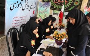 انتخابات شوراهای دانش آموزی  برای اولین بار بصورت الکترونیکی در مدارس استان کهگیلویه و بویراحمد برگزار شد + تصاویر