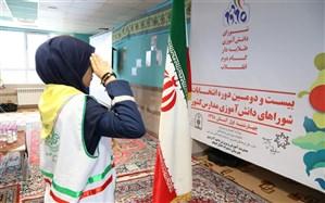 برگزاری انتخابات شورای دانش آموزی دراستان اردبیل