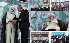 تجلیل از واقعی به عنوان خادم نماز برتر استان