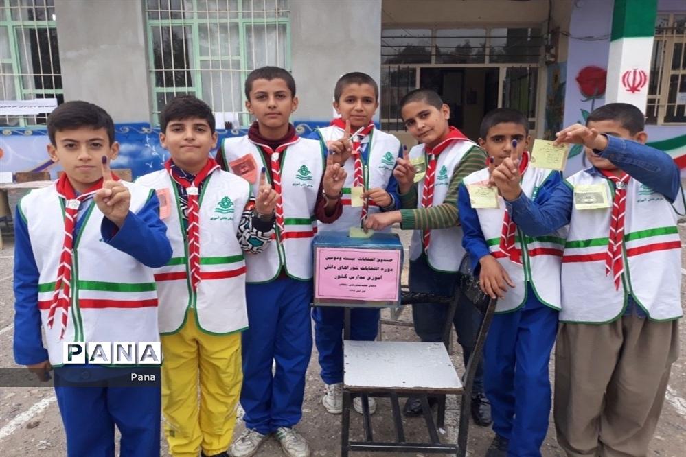 انتخابات شوراهای دانشآموزی شهرستانهای آذربایجان غربی