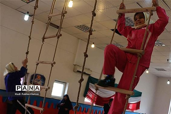 آیین افتتاحیه کلاس درس تربیتبدنی در آموزشگاه علی ابن ابیطالب (ع) کهریزک
