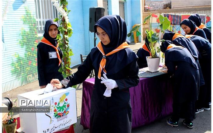 انتخابات شورای دانش آموزی  آموزش و پرورش منطقه تبادکان