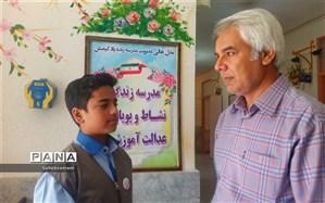 انتخابات شورای دانش آموزی شهرستان کاشمر برگزار شد
