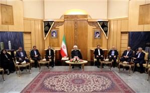 روحانی:  امروز هیچکس تردید ندارد که ایران یک کشور بسیار مهم و تأثیرگذار در منطقه است