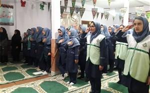 دوره آموزشی پیشتازان دختر ضیاءآباد برگزار شد