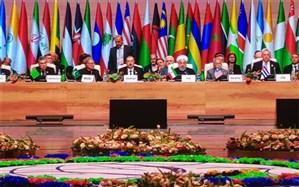 روحانی: سوء استفاده آمریکا از دلار در تعارض مستقیم با حقوق و آزادیهای مشروع ملّتهای مستقل است