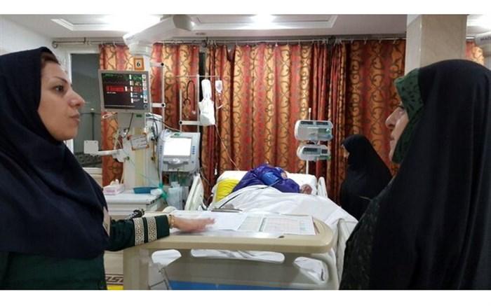 عیادت معاون رییسجمهور از اعظم طالقانی در بیمارستان