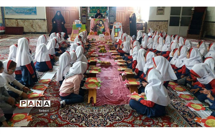 جشن  قرآن در مسجد جامع شیروان