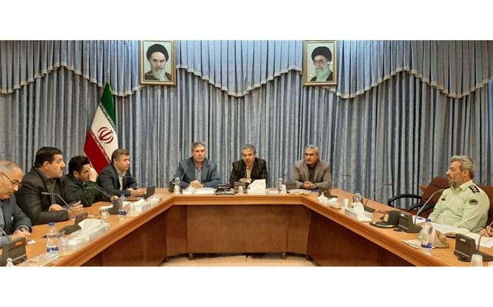 جلسه پدافند غیرعامل استان  اردبیل