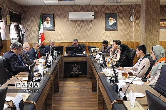 جلسه شورای برنامهریزی سازمان دانشآموزی استان فارس