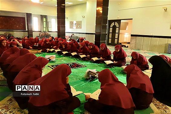 برگزاری محفل انس با قرآن در چهاردانگه