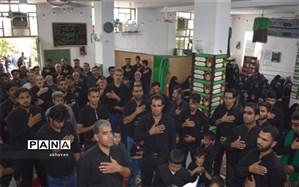 برگزاری مراسم عزاداری شهادت امام حسن مجتبی (ع) در بهاباد
