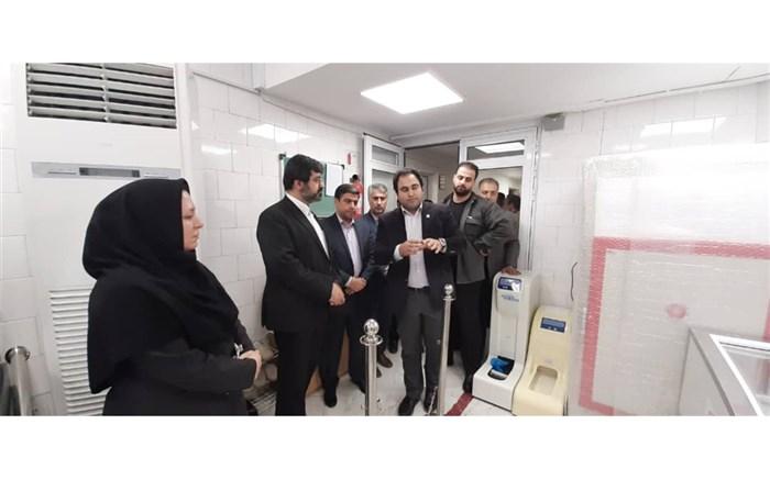 بازدید استاندار اردبیل از واحدهای انتقال خون استان