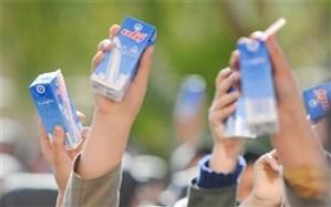 پرداخت 100 میلیارد تومان به وزارت آموزشوپرورش برای توزیع رایگان شیر مدارس