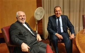 ظریف و لاوروف دیدار کردند