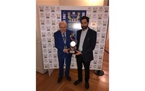 اهدای جایزه ویژه سال به کانال ورزش رسانه ملی