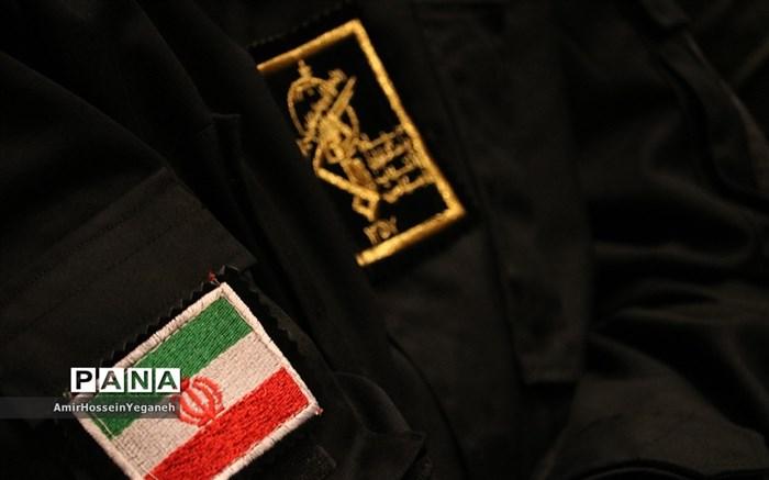 آیین تکریم و معارفه فرمانده ناحیه مقاومت بسیج سپاه کیش
