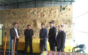 بازدید نماینده دفتر تربیت بدنی و فعالیت های ورزشی وزارت آموزش و پرورش از مدارس اردبیل