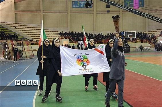 افتتاحیه ششمین المپیاد ورزشی درون مدرسه ای
